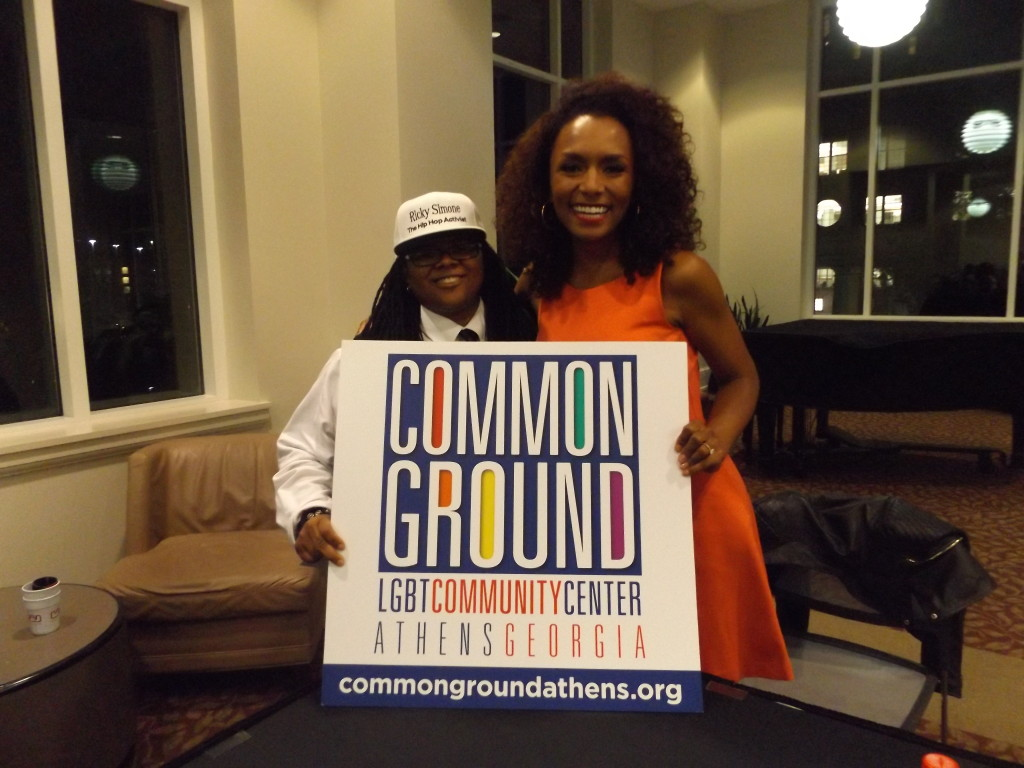 Janet Mock at UGA on 10/6/15